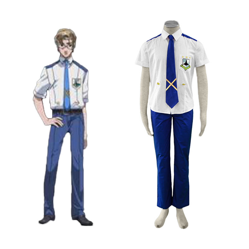 Macross F Mikhail Blanc 1 Cosplay Costumes UK