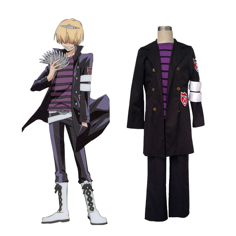 Hitman Reborn Belphegor 1 Cosplay Costumes UK