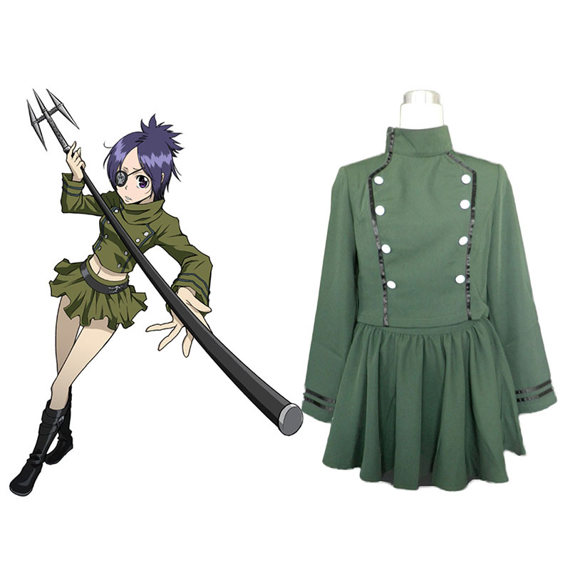 Hitman Reborn Chrome Dokuro Cosplay Costumes UK