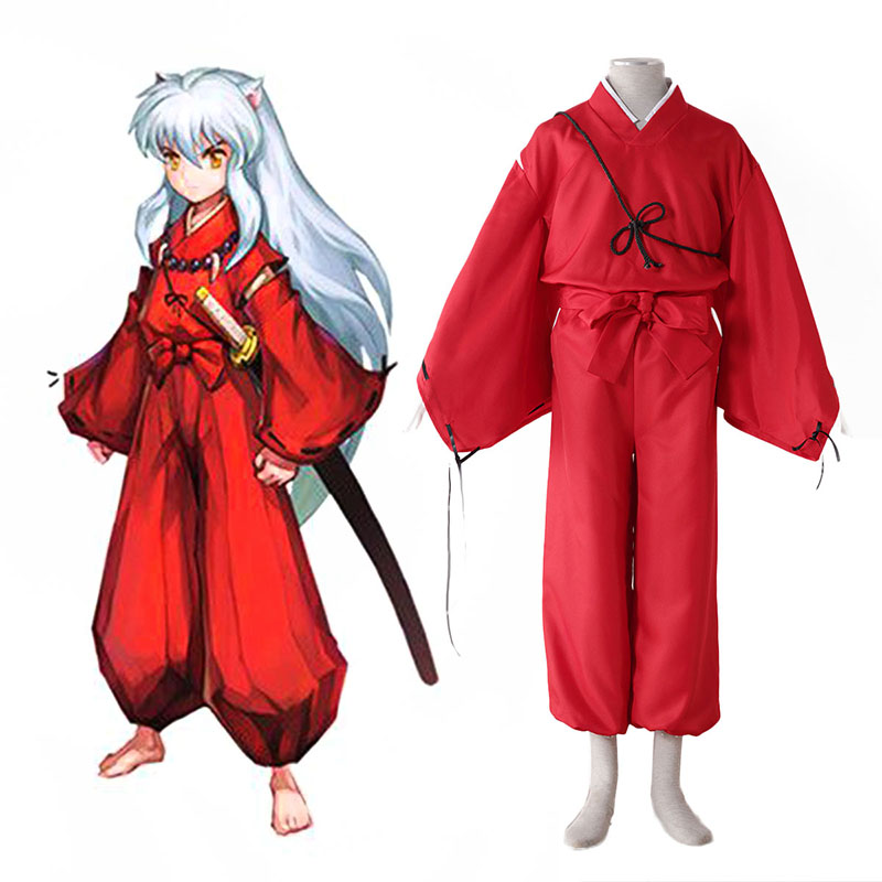 Inuyasha 2 Red Cosplay Costumes UK