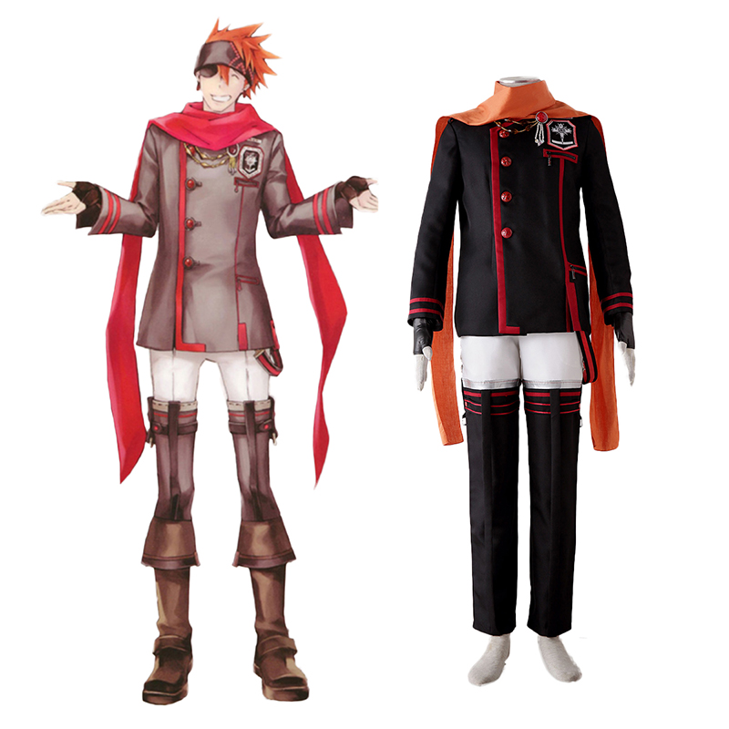 D.Gray-man Lavi 3 Cosplay Costumes UK