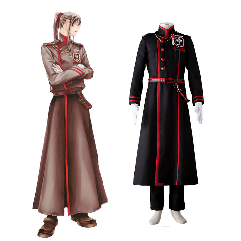 D.Gray-man Yu Kanda 3 Cosplay Costumes UK