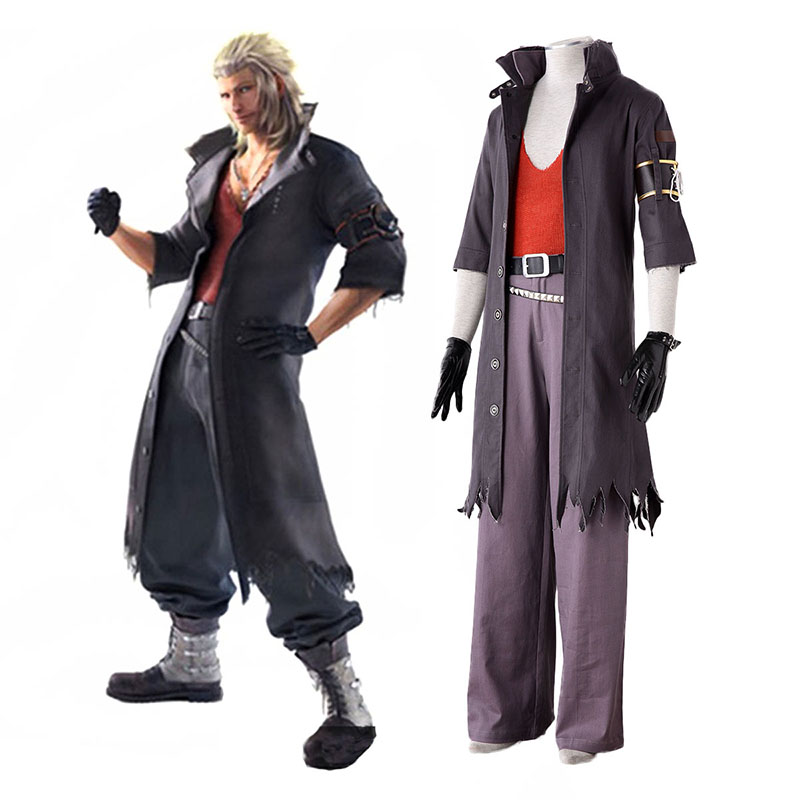 Final Fantasy 13-2 Snow Villiers 2 Cosplay Costumes UK
