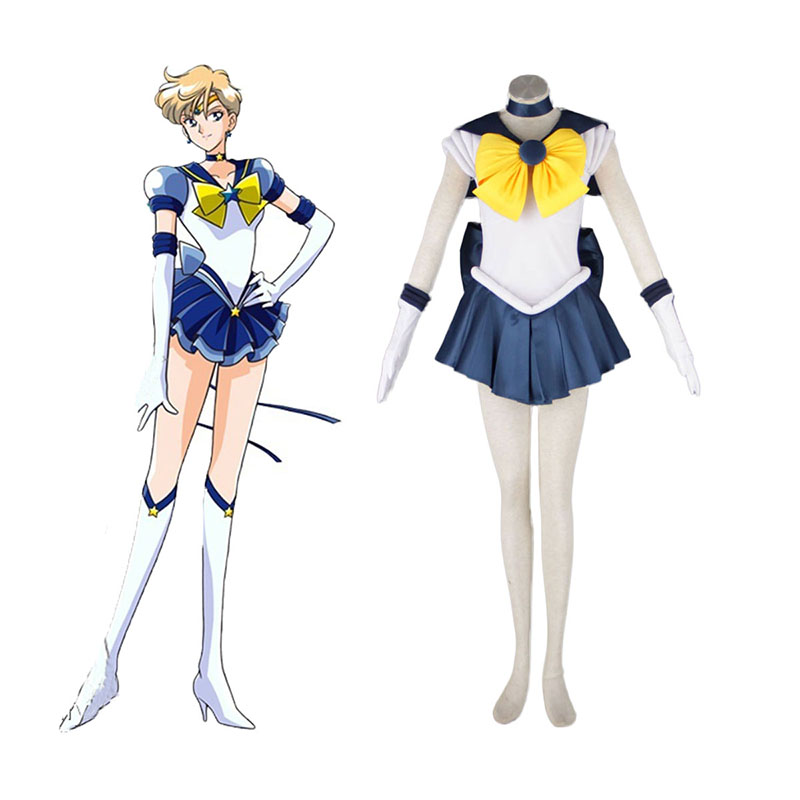 Sailor Moon Tenoh Haruka 1 Cosplay Costumes UK
