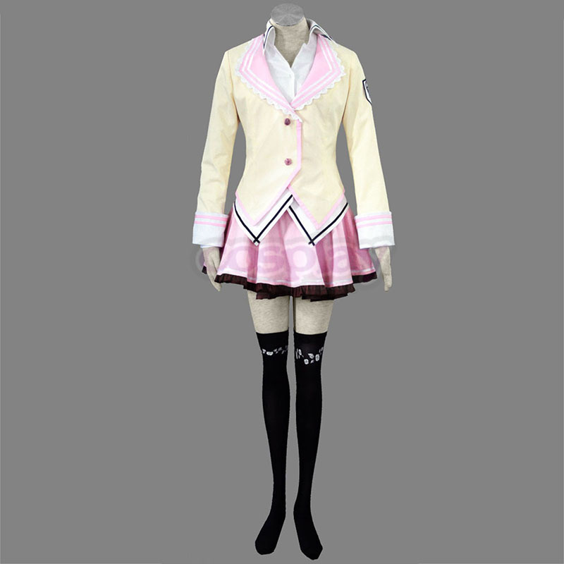 Supreme Candy School Female Uniformes Cosplay Costumes UK