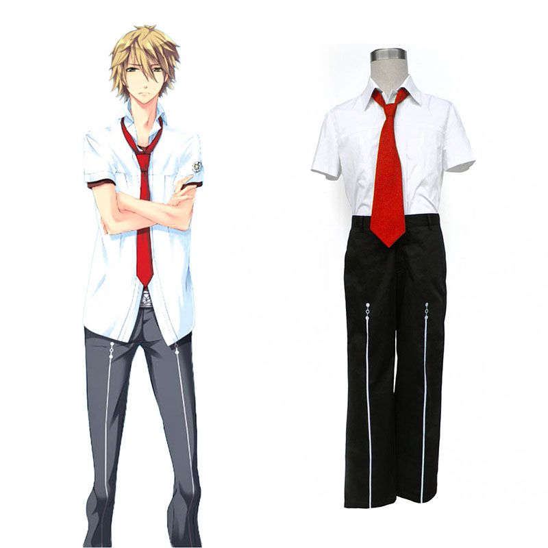Starry Sky Male Summer School Uniform 1 Cosplay Costumes UK
