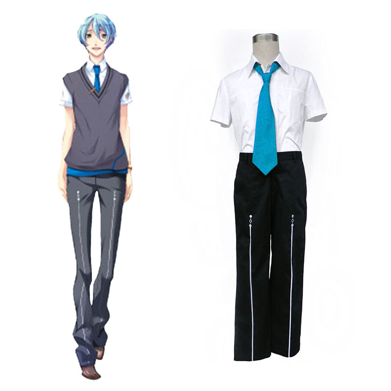 Starry Sky Male Summer School Uniform 3 Cosplay Costumes UK