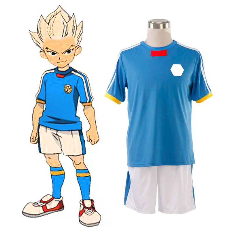 Inazuma Eleven Japan National Team Summer 1 Cosplay Costumes UK
