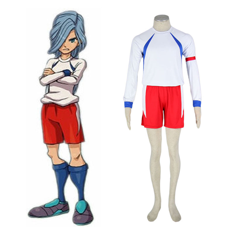 Inazuma Eleven British Team Soccer Jersey 2 Cosplay Costumes UK