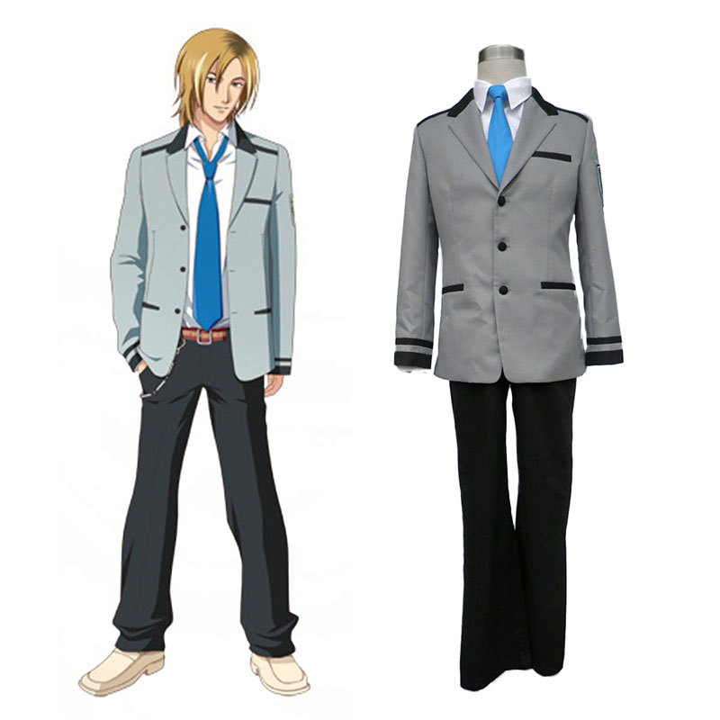 Tokimeki Memorial Girl's Side Male School Uniform Cosplay Costumes UK