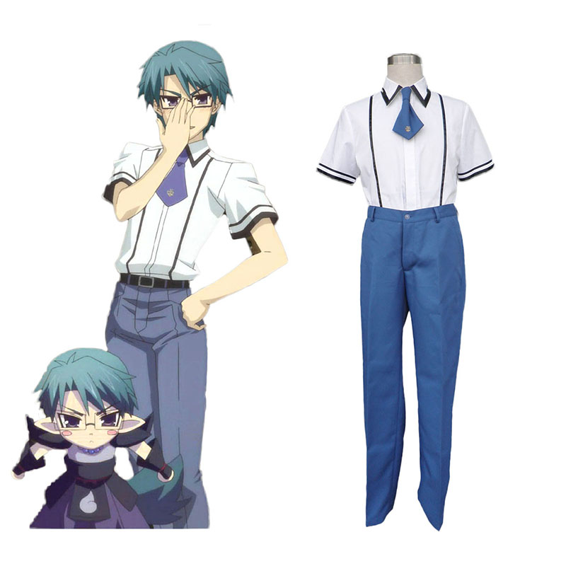 Baka and Test Male School Uniform Cosplay Costumes UK