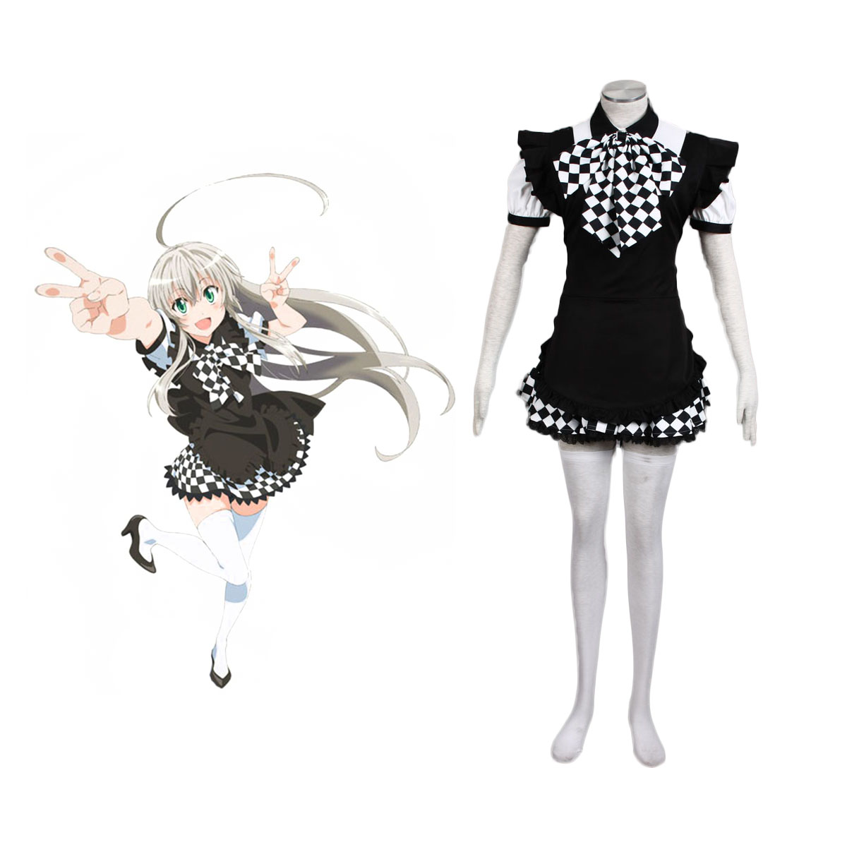 Nyaruko: Crawling with Love Nyaruratohotepu 1 Cosplay Costumes UK