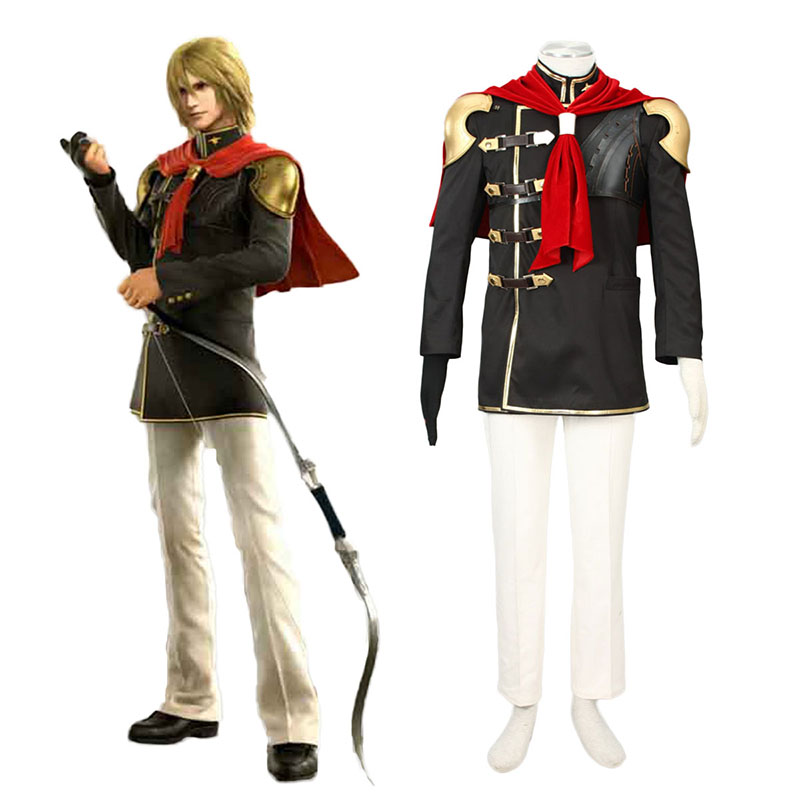 Final Fantasy Type-0 Trey 1 Cosplay Costumes UK