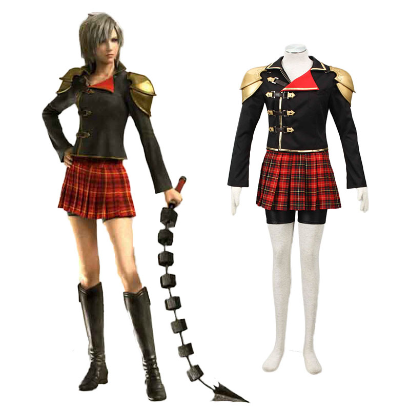 Final Fantasy Type-0 Seven 1 Cosplay Costumes UK