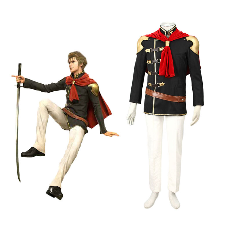 Final Fantasy Type-0 Jack 1 Cosplay Costumes UK
