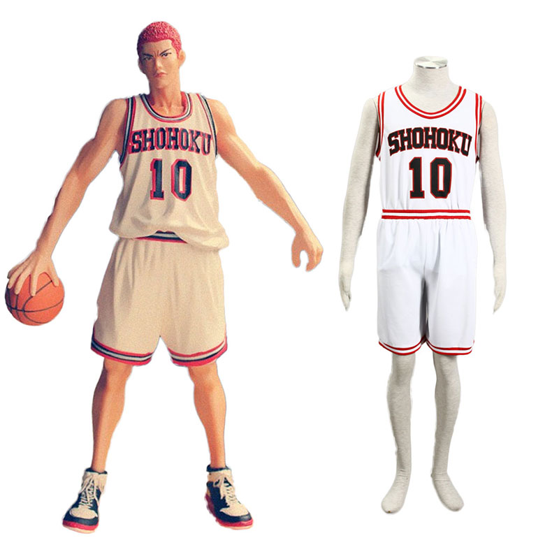 Slam Dunk Hanamichi Sakuragi 2 Cosplay Costumes UK