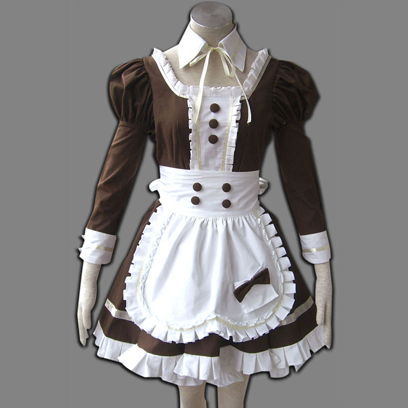 Maid Uniform 4 Coffee Whispery Cosplay Costumes UK