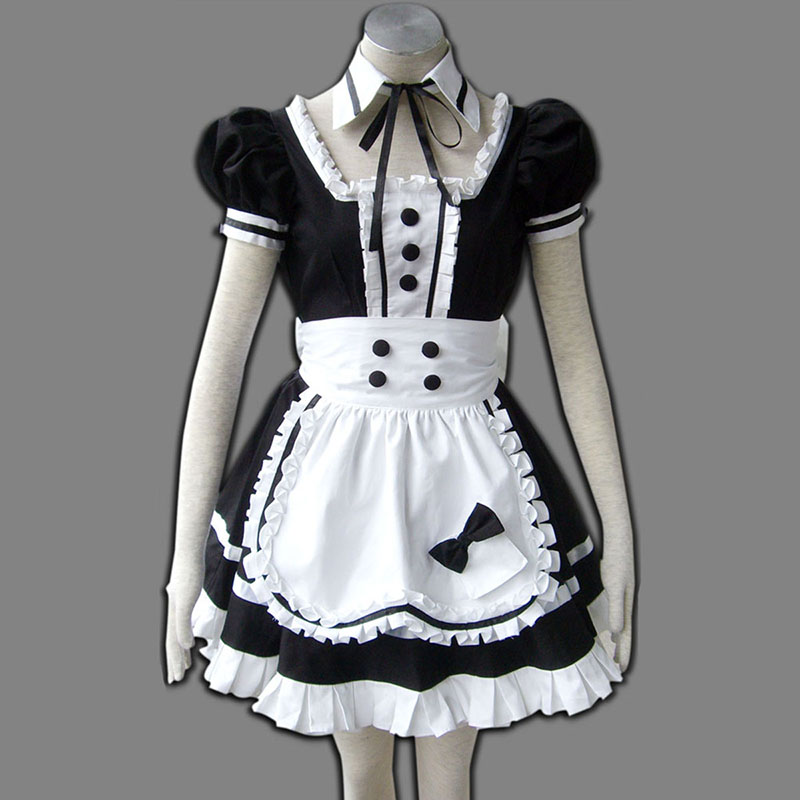 Maid Uniform 5 Princess Of Dark Cosplay Costumes UK