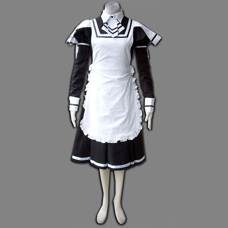 Maid Uniform 7 Deadly Weapon Cosplay Costumes UK
