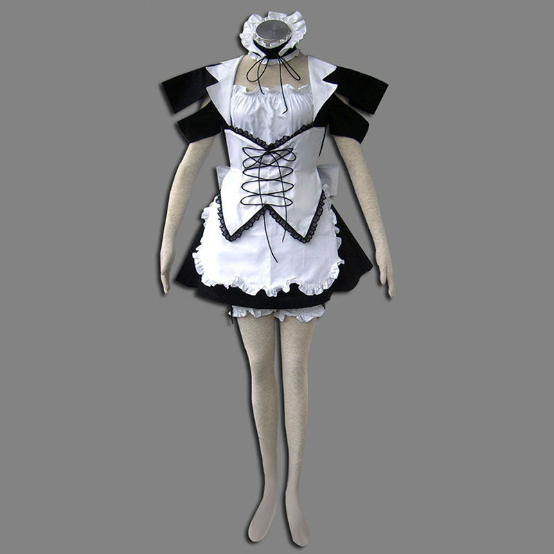 Maid Uniform 13 Wind Spirit Cosplay Costumes UK