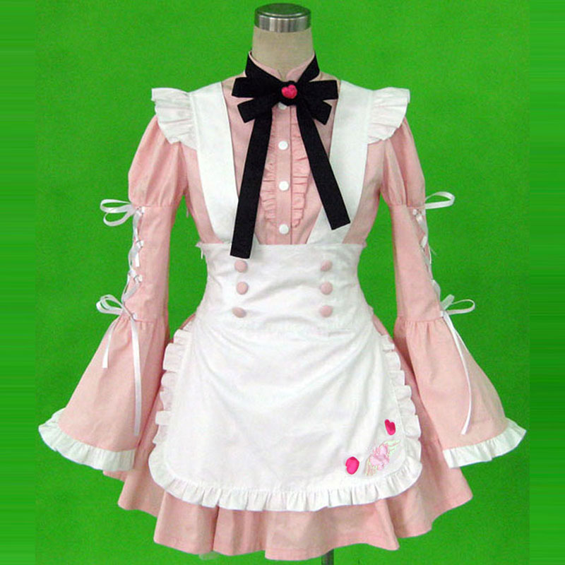 Maid Uniform 14 Cherry Snow Cosplay Costumes UK
