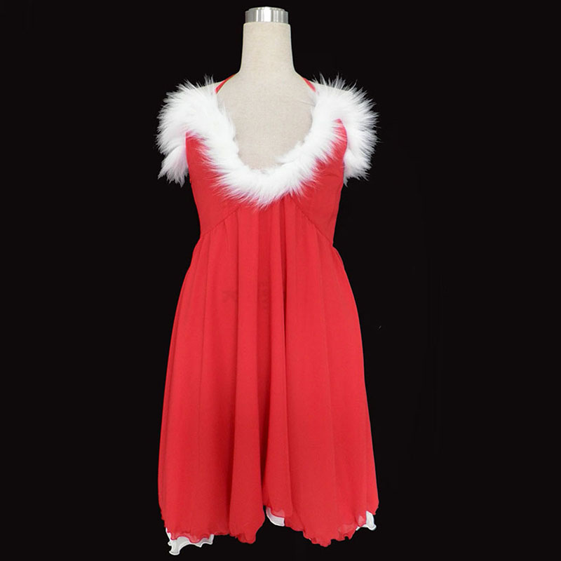 Christmas Lady Dress 3 Cosplay Costumes UK