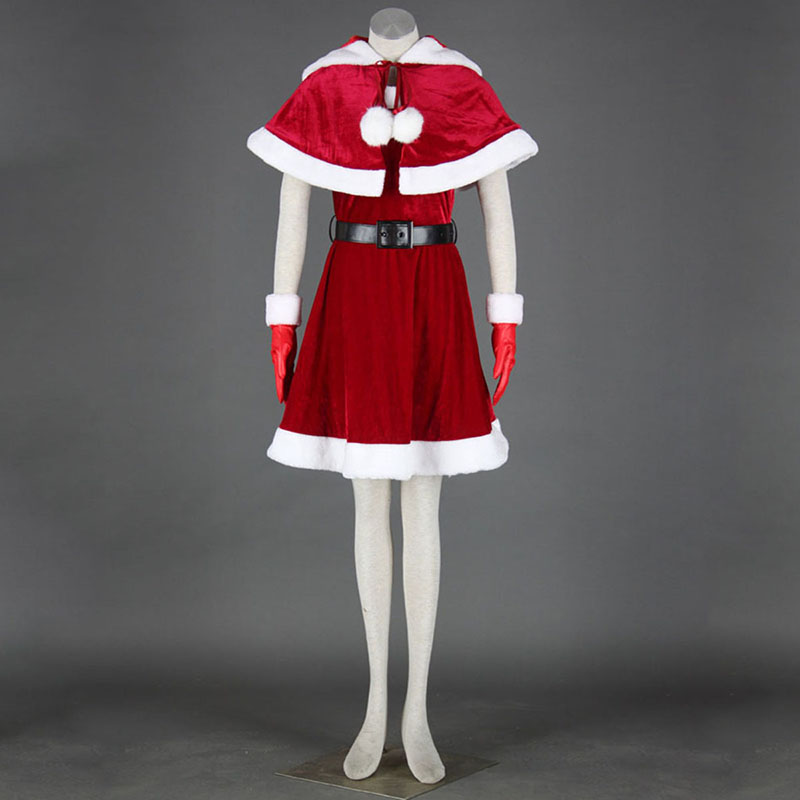 Christmas Lady Dress 11 Cosplay Costumes UK