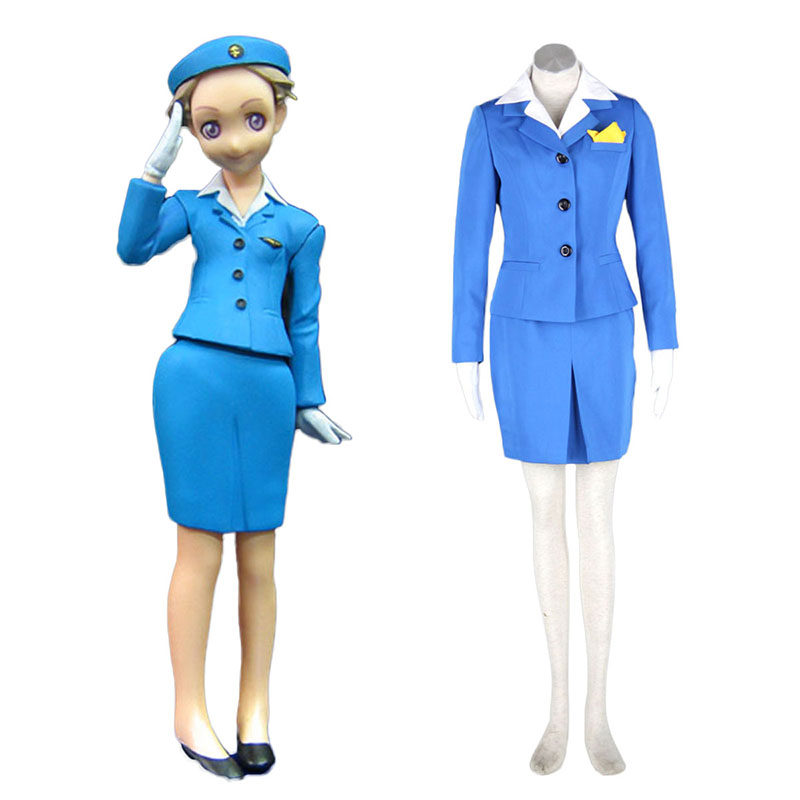 Aviation Uniform Culture Stewardess 1 Cosplay Costumes UK