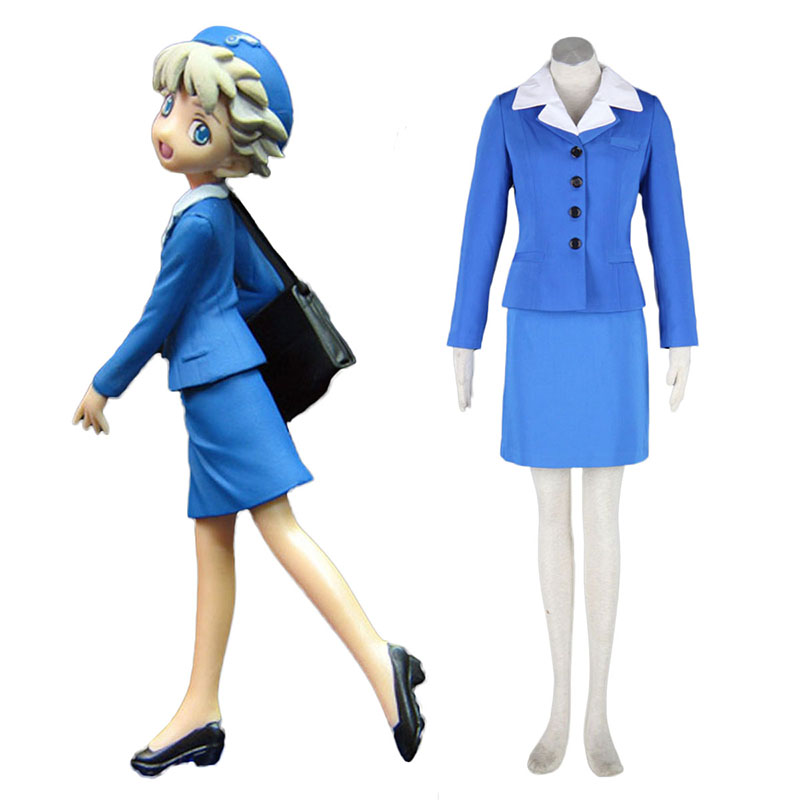 Aviation Uniform Culture Stewardess 2 Cosplay Costumes UK