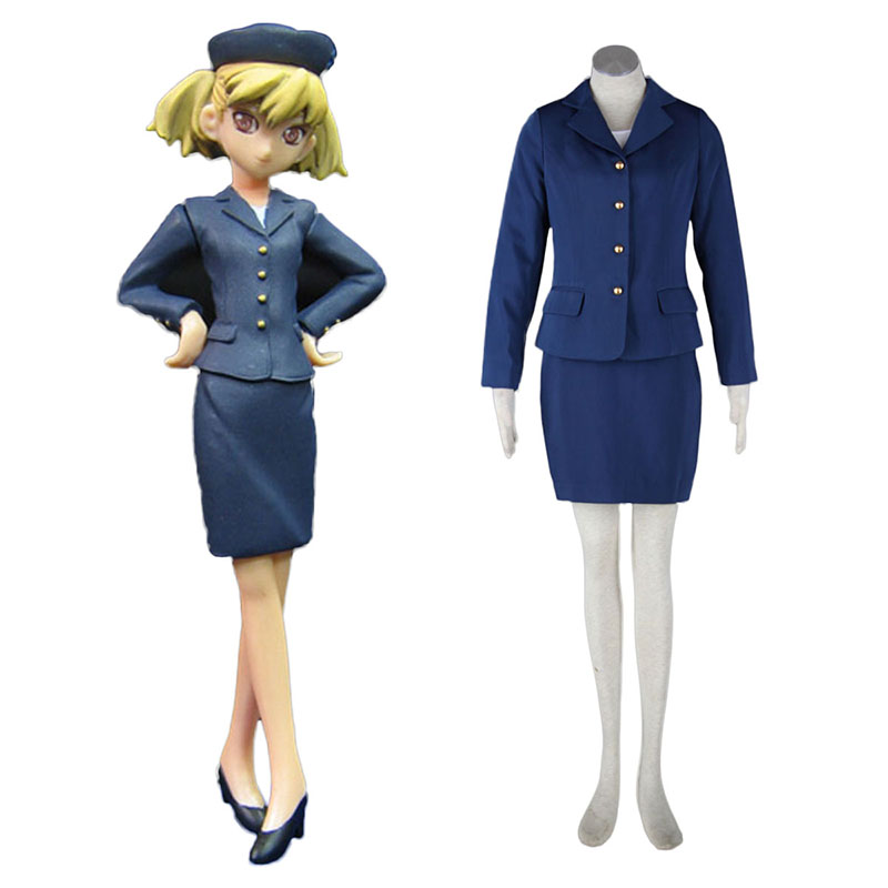 Aviation Uniform Culture Stewardess 3 Cosplay Costumes UK