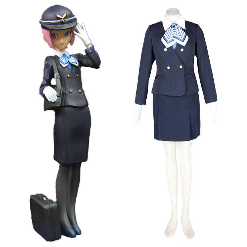 Aviation Uniform Culture Stewardess 7 Cosplay Costumes UK