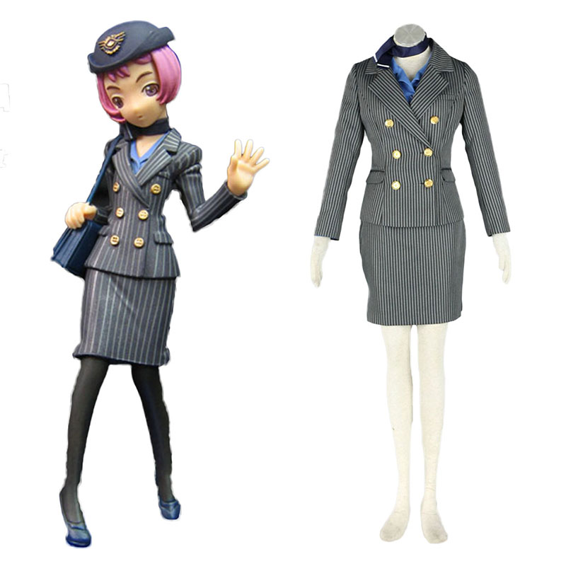 Aviation Uniform Culture Stewardess 8 Cosplay Costumes UK