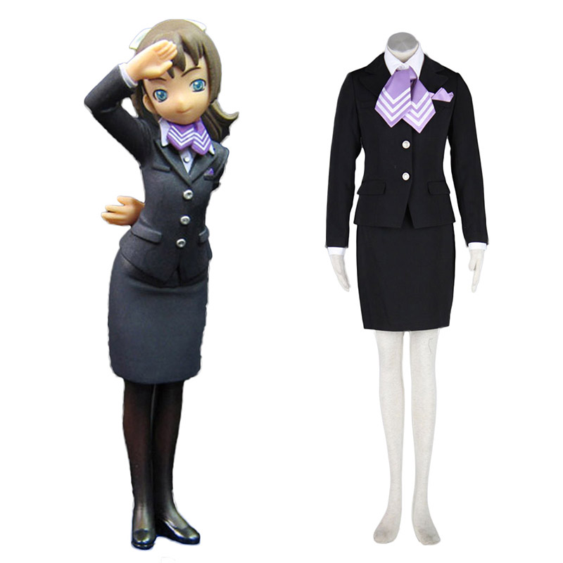 Aviation Uniform Culture Stewardess 9 Cosplay Costumes UK