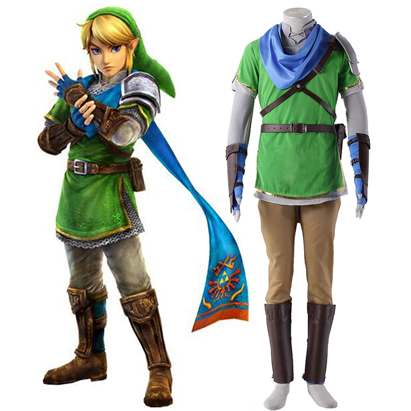 The Legend of Zelda Hyrule-Warriors Link 5 Cosplay Costumes UK