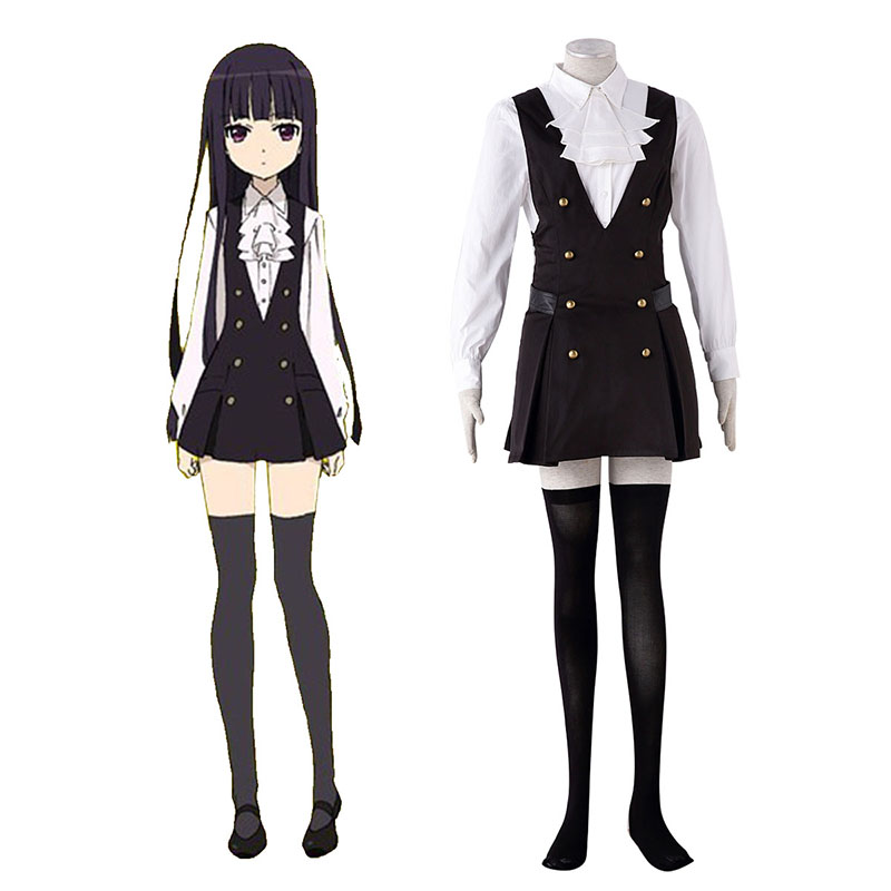 Inu X Boku SS Shirakiin Riricho 3 Cosplay Costumes UK