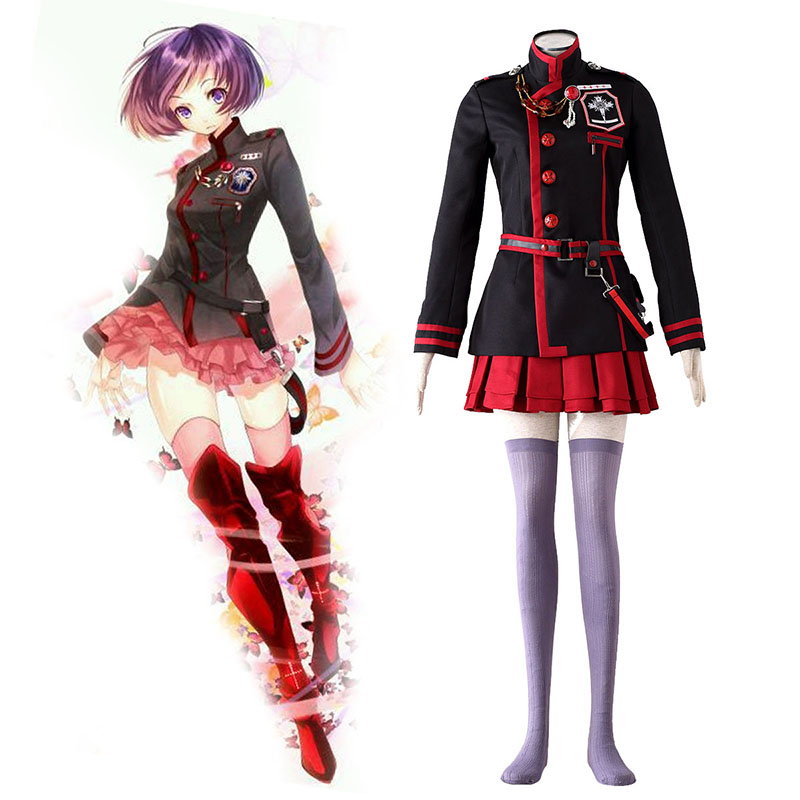 D.Gray-man Linali Lee 3 Cosplay Costumes UK
