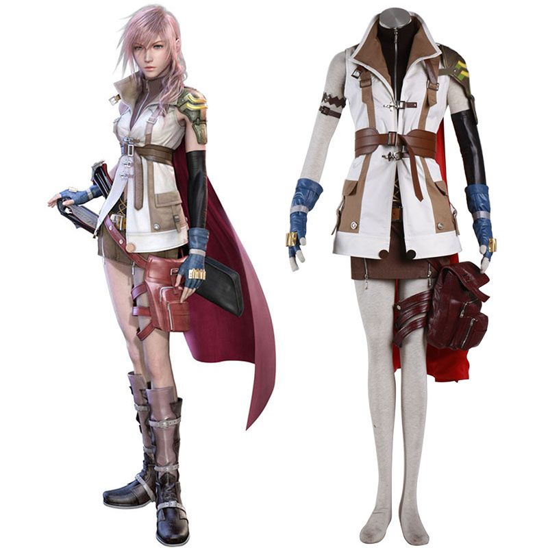 Final Fantasy XIII Lightning 1 Cosplay Costumes UK