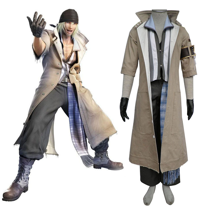 Final Fantasy XIII Snow Villiers 1 Cosplay Costumes UK