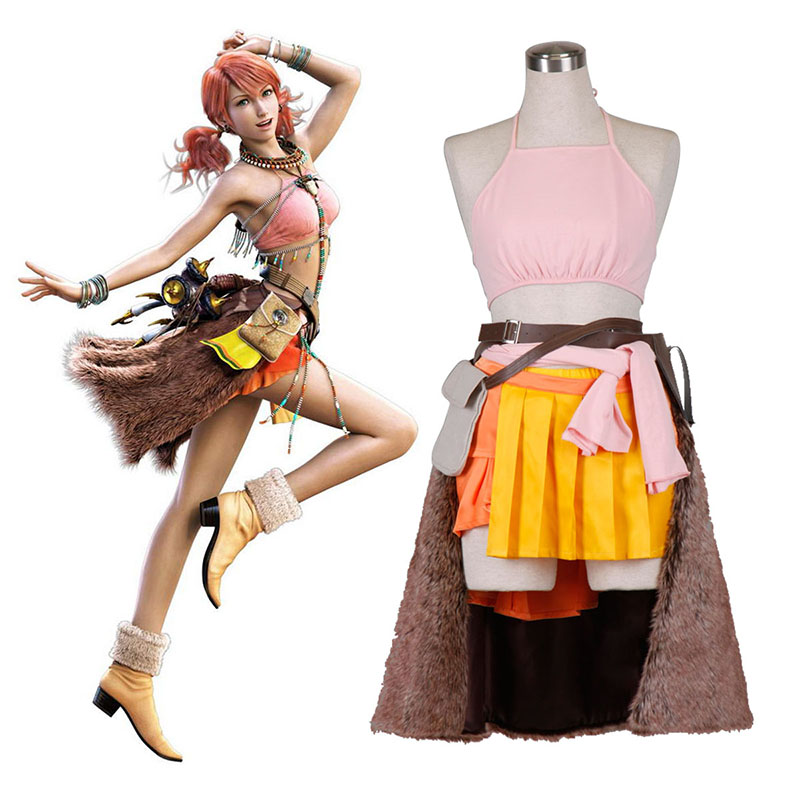 Final Fantasy XIII Oerba Dia Vanille 1 Cosplay Costumes UK