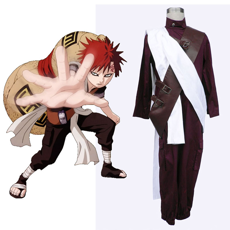Naruto Gaara 3 Cosplay Costumes UK