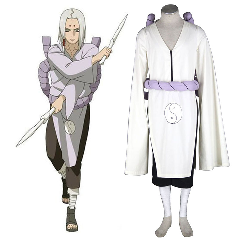 Naruto Kimimaro 1 Cosplay Costumes UK