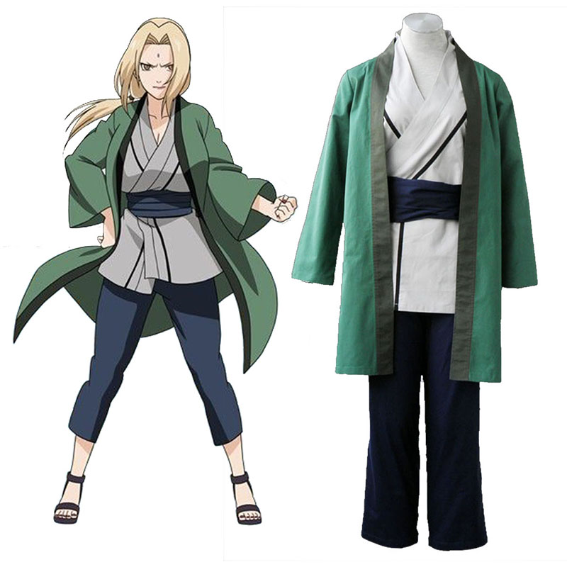 Naruto Tsunade 1 Cosplay Costumes UK