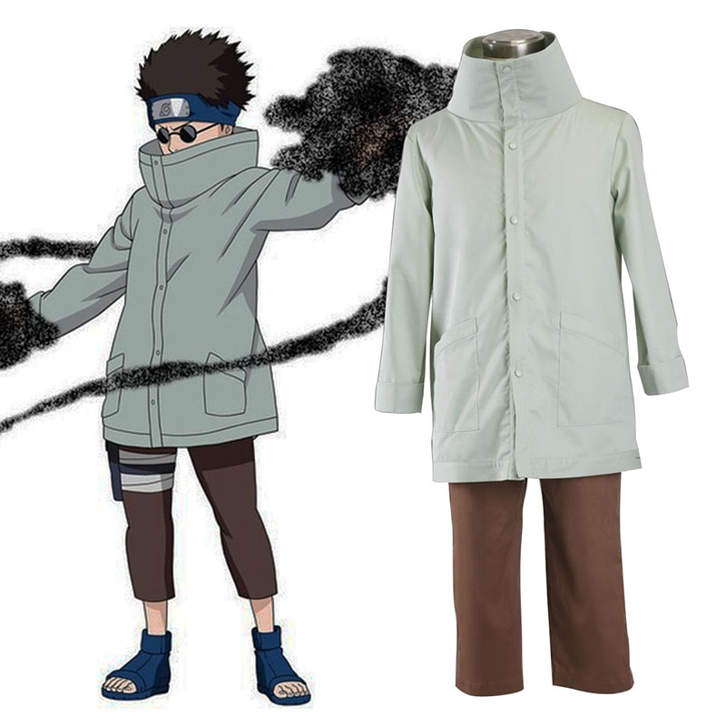 Naruto Aburame Shino 1 Cosplay Costumes UK