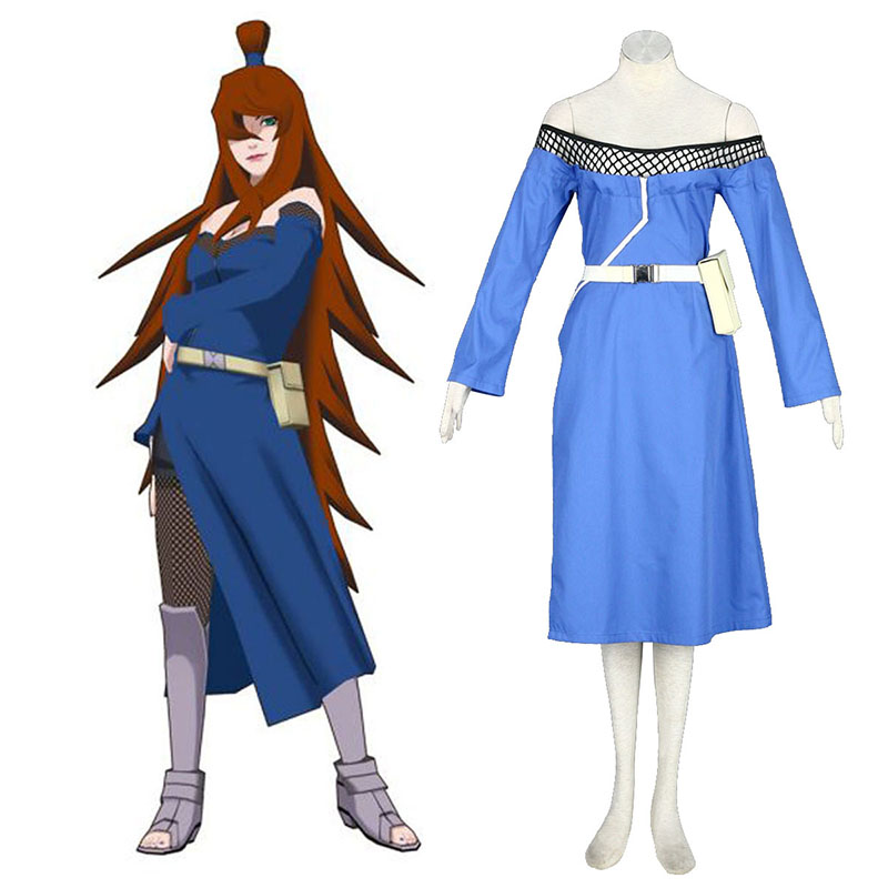 Naruto Fifth Mizukage Terumi Mei 1 Cosplay Costumes UK