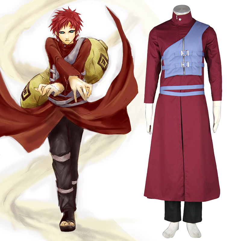 Naruto Shippuden Gaara 7 Cosplay Costumes UK