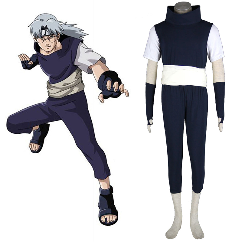 Naruto Yakushi Kabuto 1 Cosplay Costumes UK