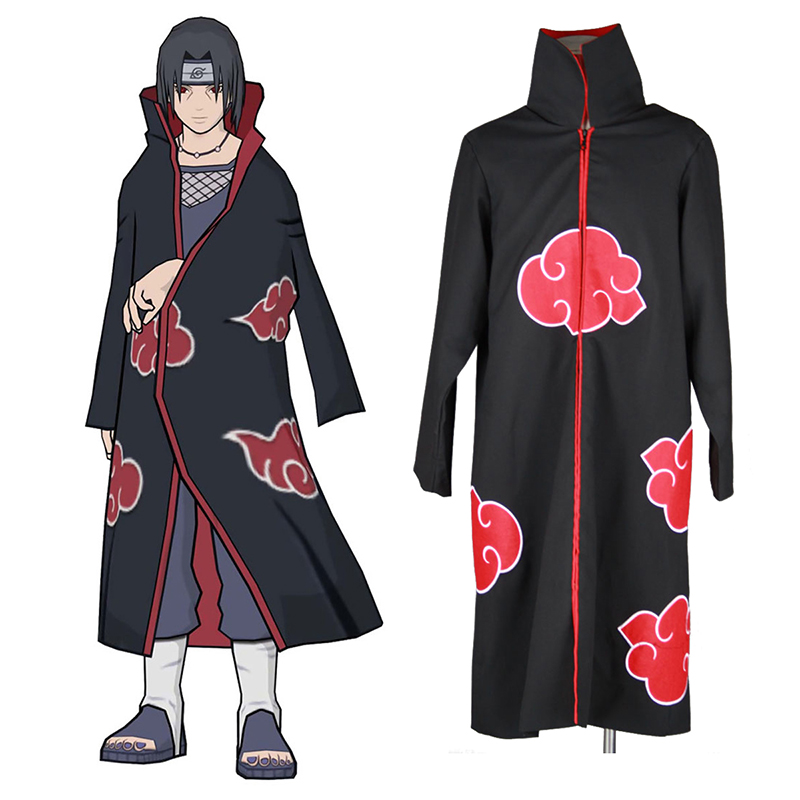 Naruto Akatsuki Organization 3 Cosplay Costumes UK