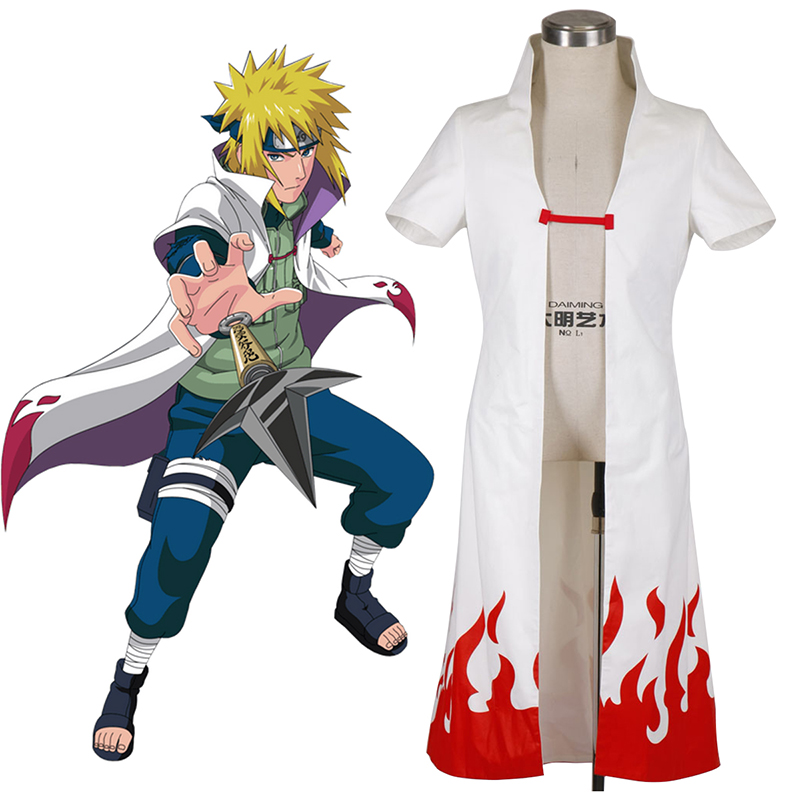 Naruto Fourth Hokage 2 Cosplay Costumes UK