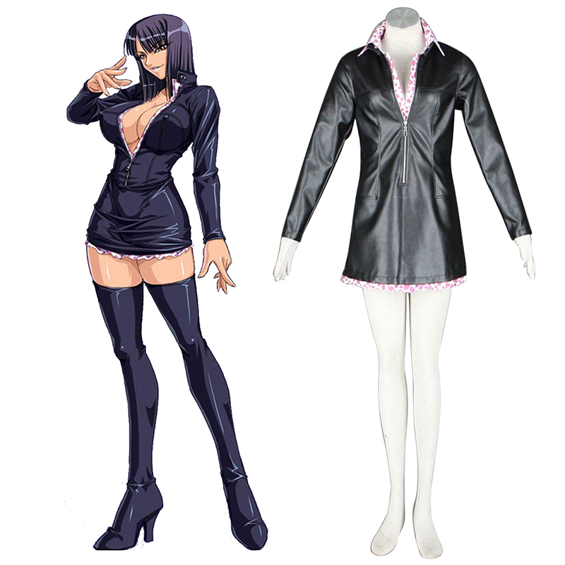 One Piece Nico·Robin 2 Green Cosplay Costumes UK