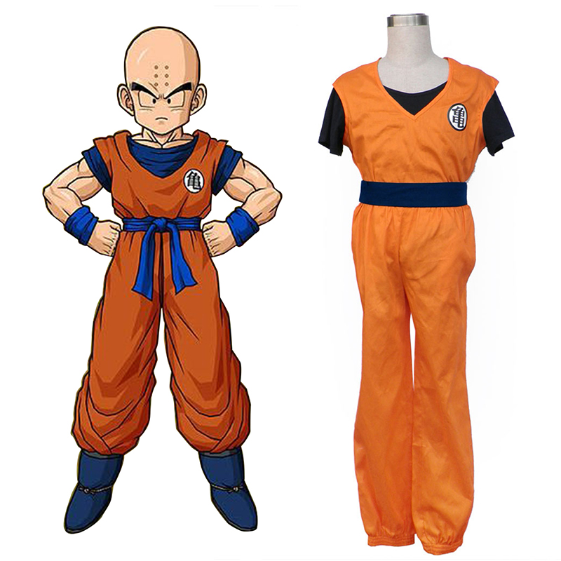 Dragon Ball Krillin Cosplay Costumes UK